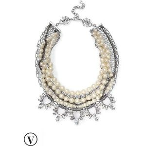 :: Stella & Dot [V] 4-in-1 Starlet Pearl Necklace